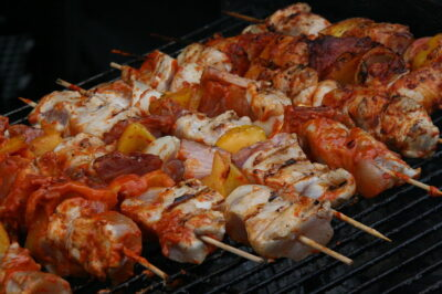 Skewers and barbecue - Balaton